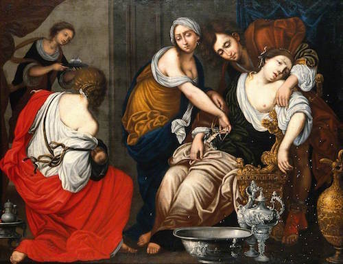 The Death Of Rachel—Francesco Furini (1600-1646)