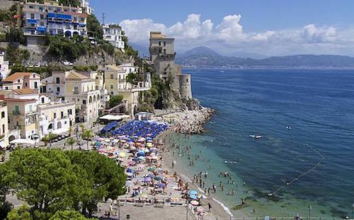 Porto di Cetera on the Amalfi Coast, Italy