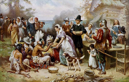 The First Thanksgiving—Jean Leon Gerome