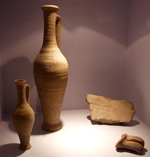 Garum jugs from Pompeii
