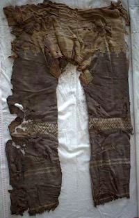 Oldest known trousers found in China