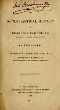 Ecclesiastical History—1842 Copy
