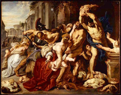The Massacre of the Innocents—Paul Reubens (1517-1640)