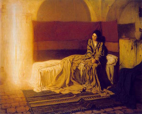 The Annunciation—Henry Ossawa Tanner (1859-1937)