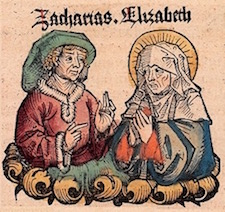 Zechariah & Elizabeth—Medieval