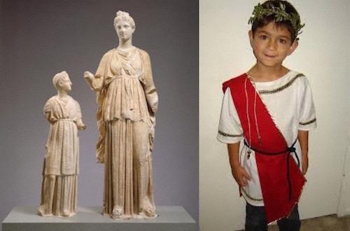 Roman Children Clothing