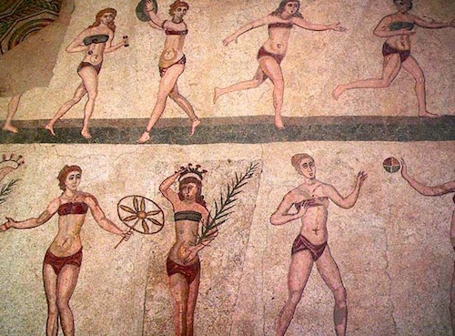 sport in ancient times east to